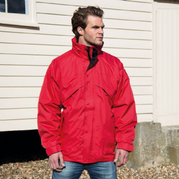 Result 3-in-1 Zip and Clip Fleece Lined Jacket RE68A